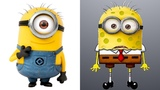 Spongebob Squarepants as Other Cartoon's Characters