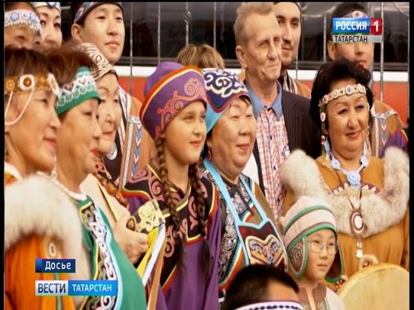 Этнический фестиваль «Марийская восьмерка» в Менделеевском районе