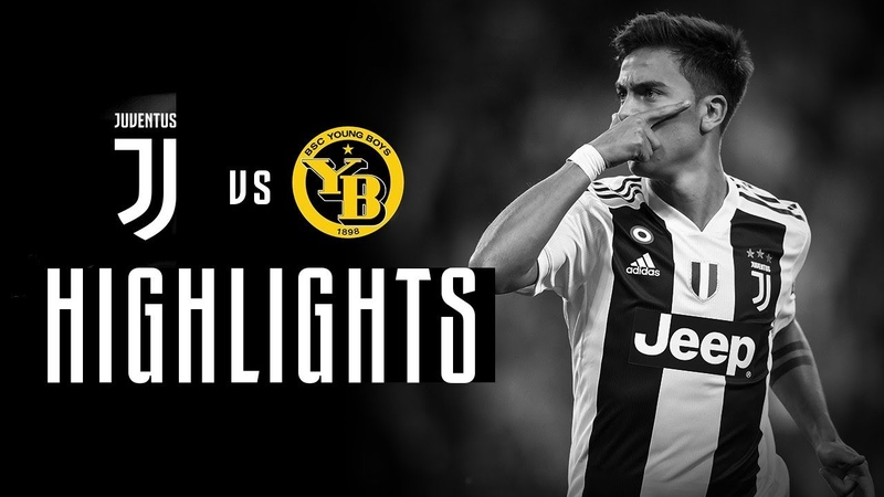 Juventus vs Young Boys UEFA Champions League in depth highlights Dybala's hat trick