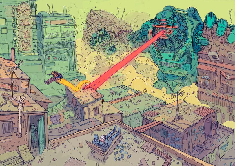 Немного мрачного технократического будущего