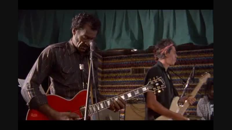 Chuck Berry Keith Richards - Oh Carol (Unedited rehearsal session)