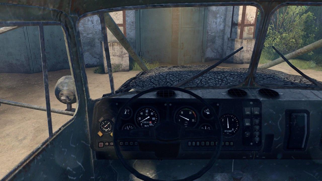 Урал 4320 с активным роспуском для Spintires - Скриншот 3