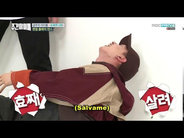 [SUB ESP] Weekly Idol E328 parte2 08-11-2017 Super Junior