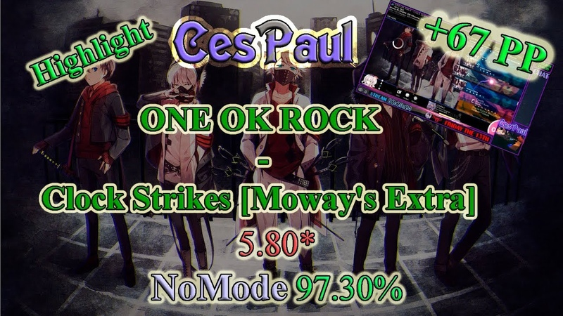 OSU Stream Highlight - ONE OK ROCK - Clock Strikes [Moway's Extra]