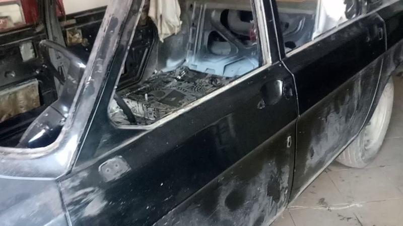 Виброизоляция Волги. Ремонт и реставрация ГАЗ 24