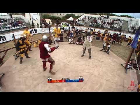 Battle of Nations 2018 4day Triatlon 2fight Уколов vs Петрик