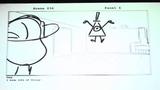 Gravity Falls Deleted Scenes Bill Meets Dipper !