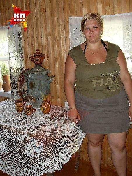 частное фото толстушки