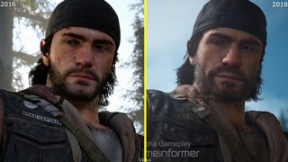 Days Gone E3 2016 vs 2018 Game Informer Demo Early Graphics Comparison