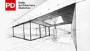 Drawing Paracas House Daily Architecture Sketches 2