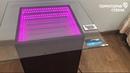 Стеклянный стол Бесконечный световой туннель