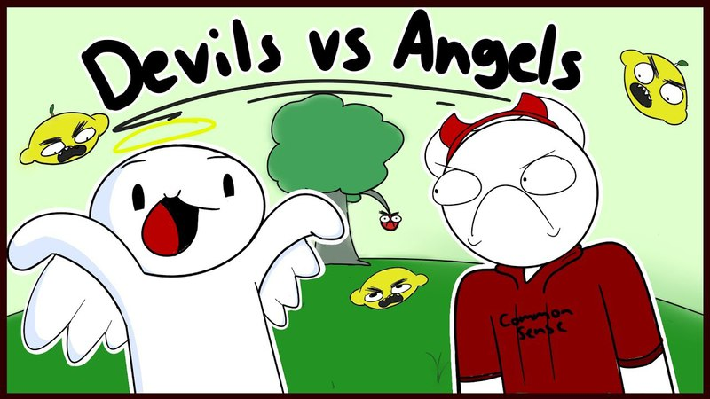 Devils Vs Angels Two w TheOdd1sOut