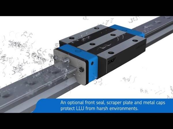 SKF Roller Profile Rail Guides LLU Video
