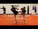 7 of my BEST Basic Offensive Combos (Real Time Sparring Footage)