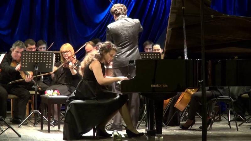 Ekaterina Fedoseeva Edvard Grieg Piano Concerto in A minor Op. 16 1 movement