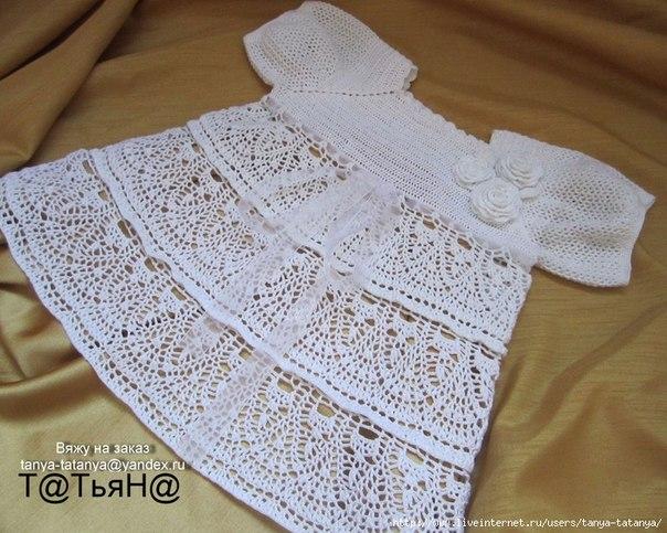 Крестильное платье. (2 фото) - картинка