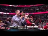 Nate Robinson blocks LeBron James (Miami Heat 10.05.13)