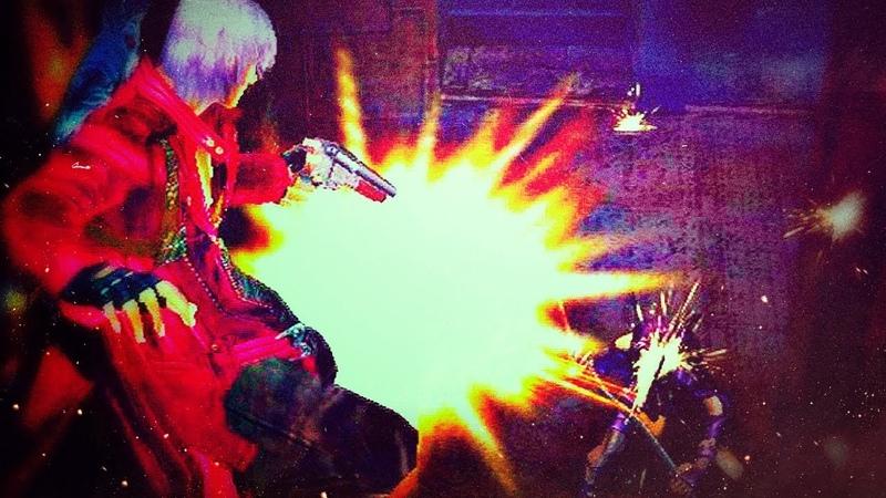 Ещё один потный файт с Вергилием Devil May Cry 3 04