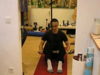 Janda Sit Up without Pavel Tsatsouline Pavelizer - burn your abs