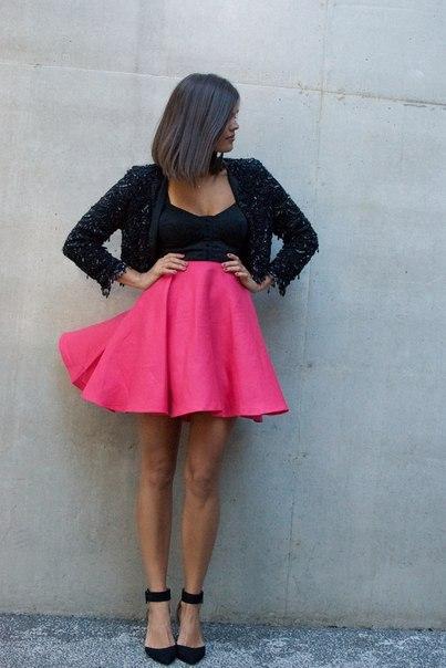 Модная юбка своими руками (6 фото) - картинка