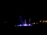 Тестовый запуск нового фонтана в Перми