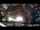 Поющие фонтаны вид с Бурдж Халифа 555 метров