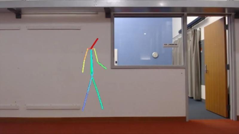 AI Senses People Through Walls / ИИ обучили видеть человека сквозь преграды