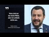 Salvini droht mit Veto gegen weitere EU-Sanktionen gegen Russland