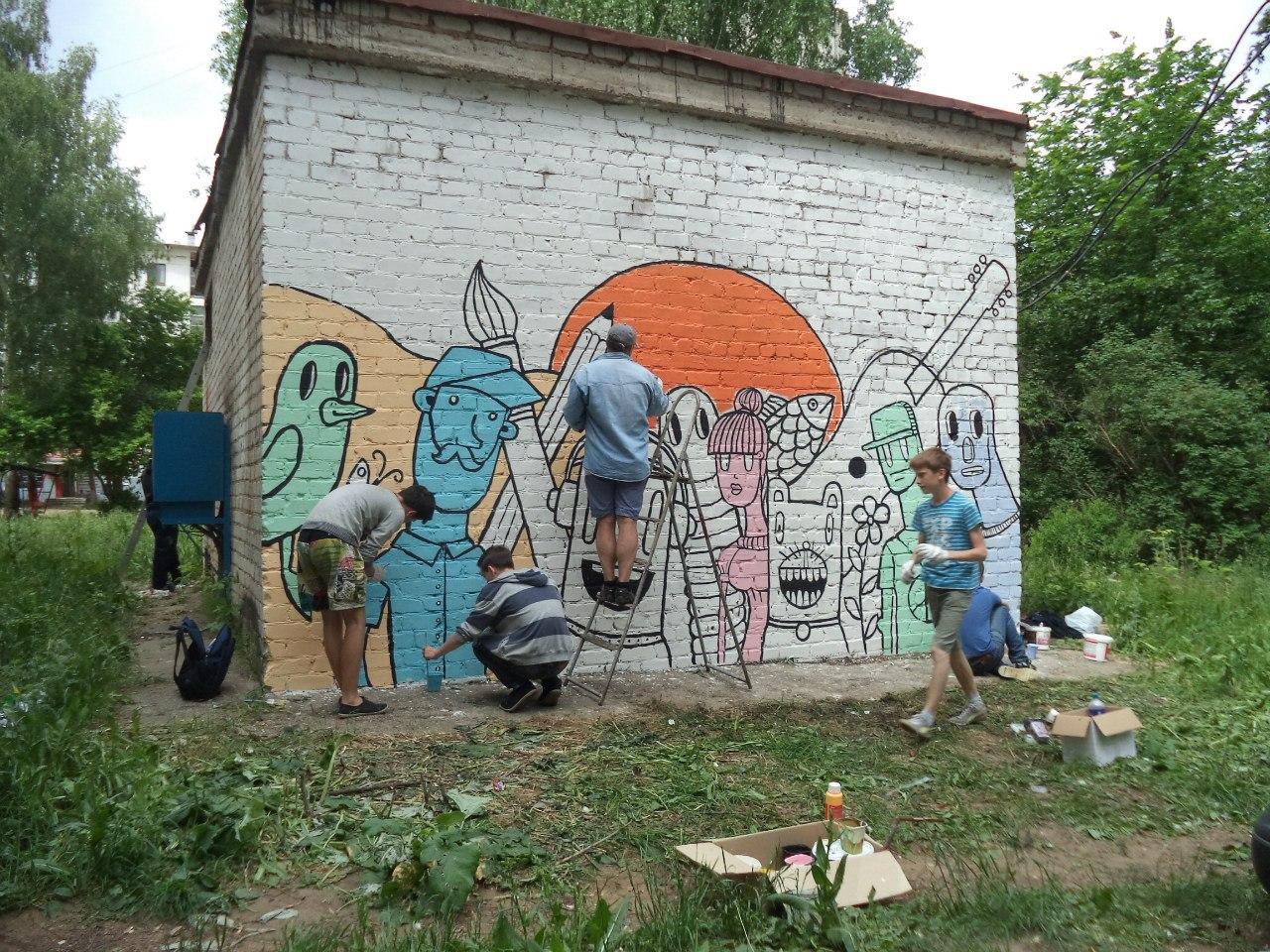 граффити, чайковский район, 2018 год
