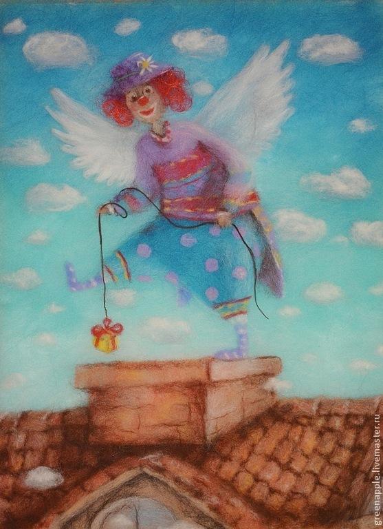 Картины шерстью от Ксении Мороз