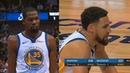 Kevin Durant CHOKES with Klay Thompson in Final Minutes Warriors vs Mavericks