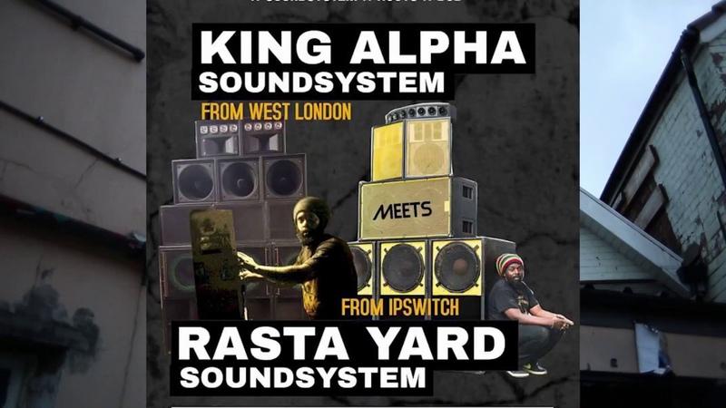 King Alpha Rasta Yard Sound Systems, @ Black Swan Bristol 1