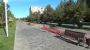 Петровский бульвар Никольский парк до и после