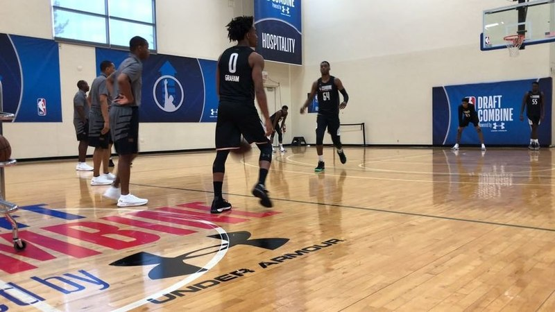 """LA Clippers """"Getting going with a few drills!"""