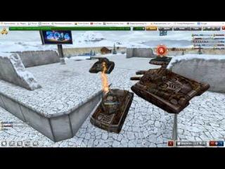Битва танков онлайн.Сезон 4 ч.1. Голд. Новогодняя битва с подписчиками новые танки онлайн.