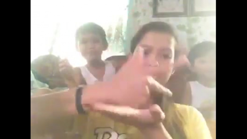 Deaf girl pretty young part 3 three Filipino sign language Philippine