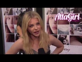 Chloe Grace Moretz hits red carpet at If I Stay Hollywood Premiere