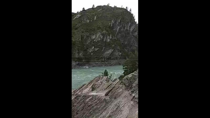 река Чамал Алтайский край