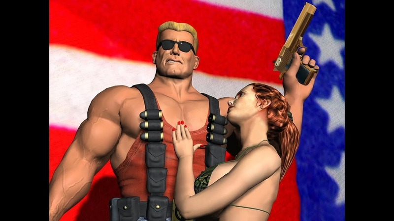 Проходим Duke Nukem 3d часть 19 много трупов мало секса