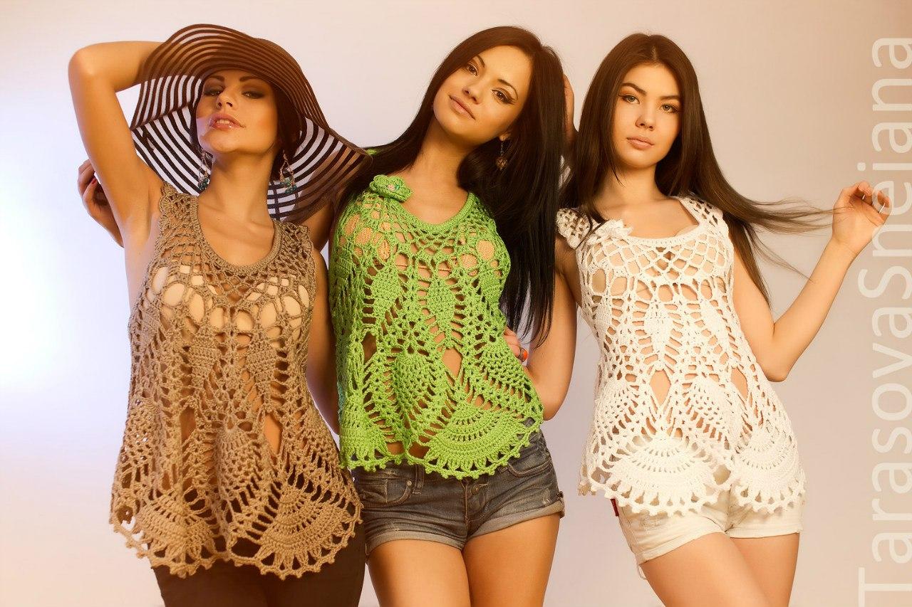 Фото девушек в ажурной одежде 13 фотография