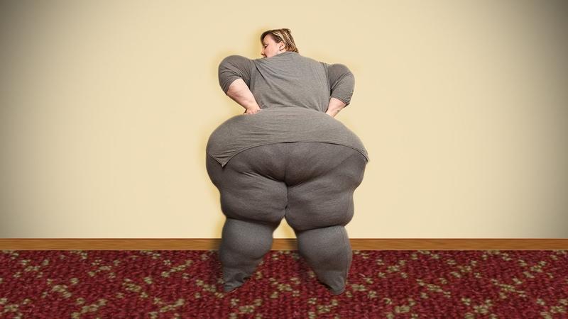 Hips Don't Lie Plus-Size Model Wants World's Largest Hips - Вот это Пыша