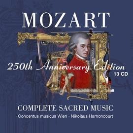Nikolaus Harnoncourt альбом Mozart: Complete Sacred Music