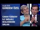 Canan Karatay sağlıklı beslenmenin sırlarını anlattı - Gündem Özel 16.06.2018 Cumartesi