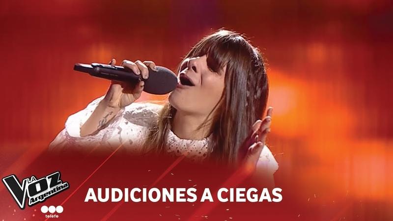 Andrea Deleón Oh darling The Beatles La Voz Argentina 2018