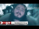 Хит Лист (20 лучших клипов недели) 31.12.2017