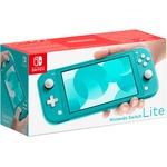 Игровая приставка Nintendo Switch Lite бирюзовый Nintendo 40071527  4 отзыва