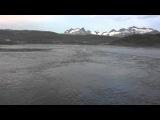 Приливное течение Сальстраумен (во фьорд)