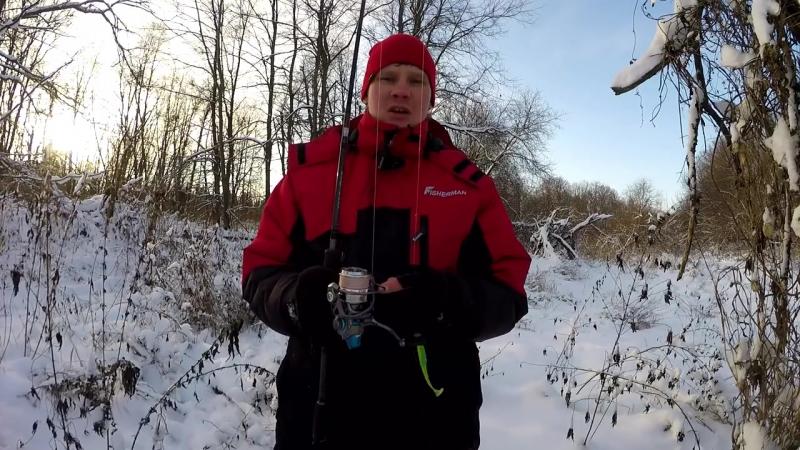 Спиннинг зимой. Ищем щуку на малой реке