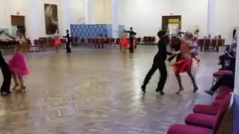 Танцы. От детей до юниоров