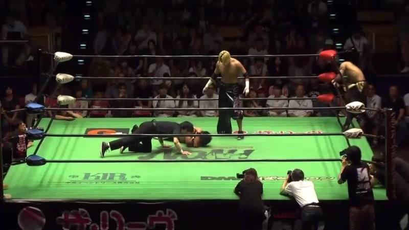 Hajime Ohara, Hitoshi Kumano vs. HAYATA, YO-HEY (NOAH - 12th Global Junior Heavyweight Tag League)